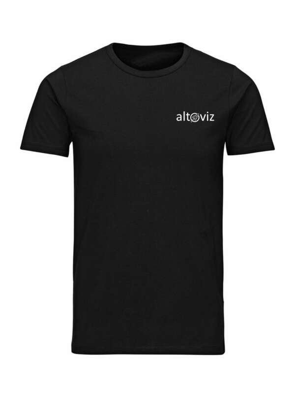 teeshirt noir altoviz